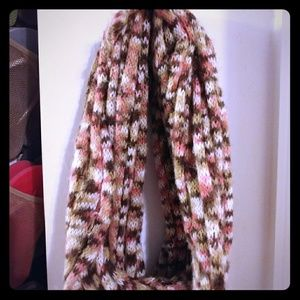 Accessories - Patterned Infinity scarf